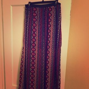 Boho Chic Skirt w Slits
